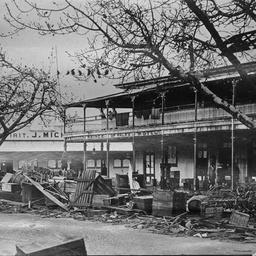 Cyclone damage in Mackay, Queensland