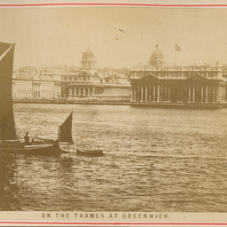 On the Thames at Greenwich