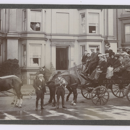 Smith family in Penzance, Cornwall