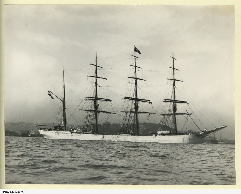 The 'Seafarer' in an unidentified port