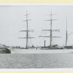 The 'Auriga' docked in an unidentified port