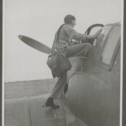 Pilot of an A46 CAC Boomerang.