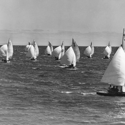 Yacht race off Glenelg