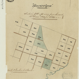 [Plan of sections in the Hundred of Nuriootpa] [cartographic material]