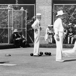 Semi-finals of the Bowls Championship at Adelaide Oval