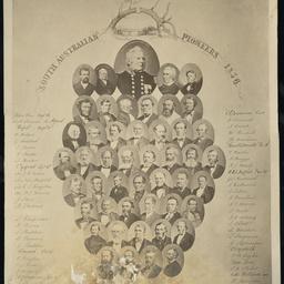 South Australian Pioneers 1836 [mosaic]