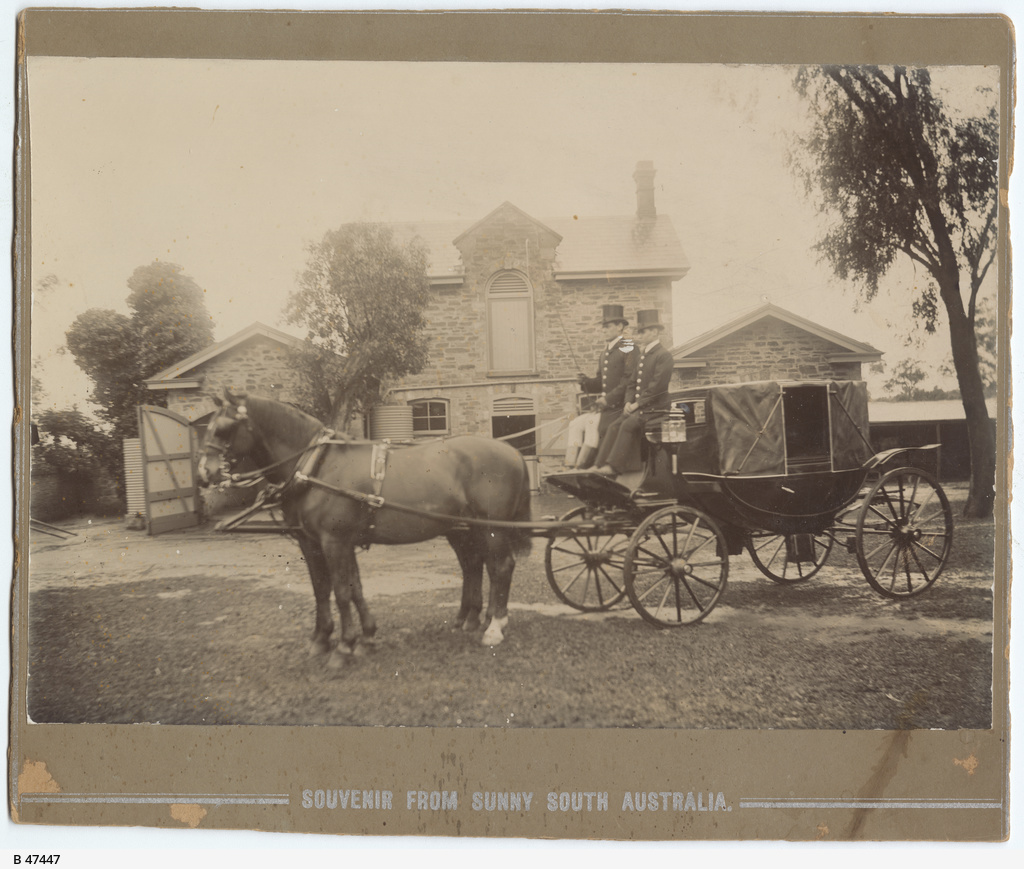 First landau in S.A. outside Ben Acre Mews