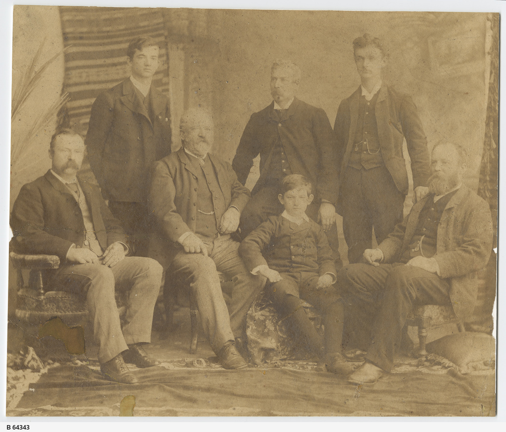 Men of the Paltridge family, Mount Barker
