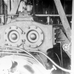 View of the engine and boiler of P.S. Industry