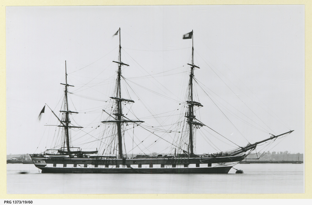 The 'Anglesey' moored in an unidentified port