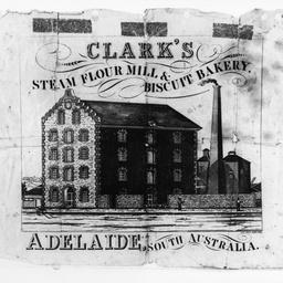 Clark's steam flour mill & biscuit bakery