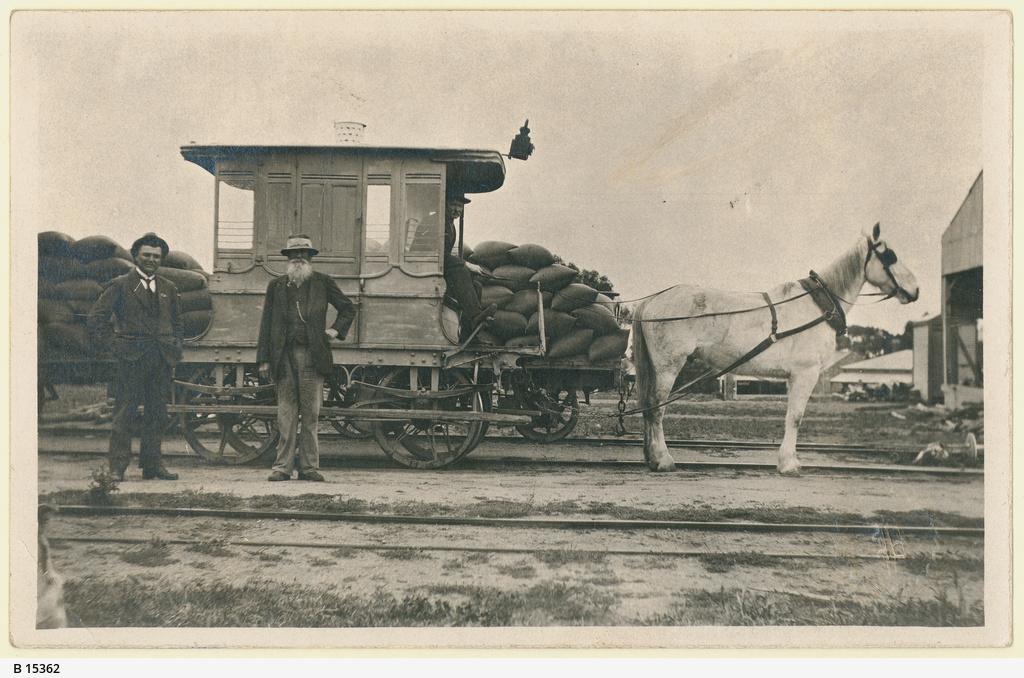 Port Broughton Tramway yard