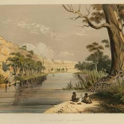The River Murray above Moorundi