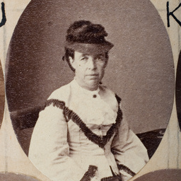 Group of [women] Old Colonists : Mary Ann Huntley