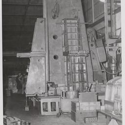 Planer machine column on Keller machine.