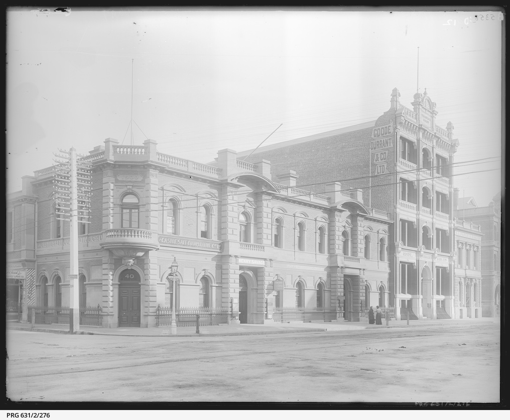 Grenfell Street corner of Gawler Place
