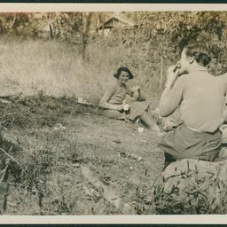 Chop picnic at Blackwood