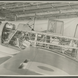 CAC Wackett under construction.
