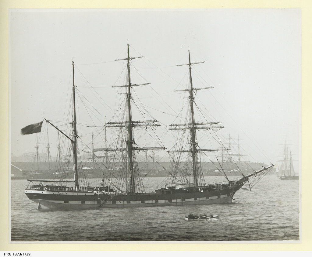 The 'Gogoburn' in an unidentified port