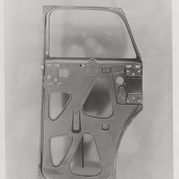 Sedan rear door inner panel.