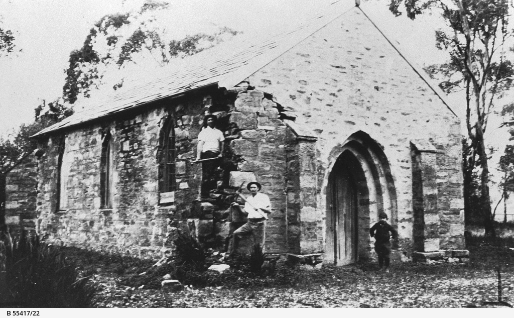 Demolition of the Church of England at Willunga