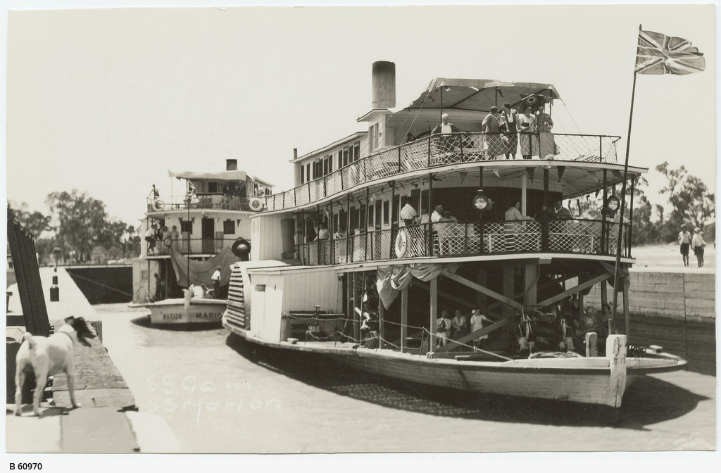 Paddlesteamers on the Murray River