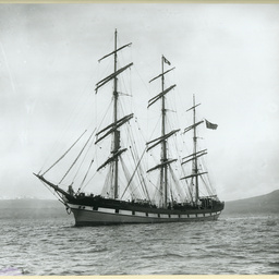 The 'Eva Montgomery' in an unidentified port