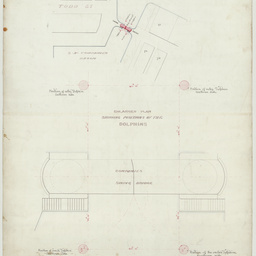 Drawings of the South Australian Company's Swing Bridge, Port Adelaide, South Australia[engineering drawing]