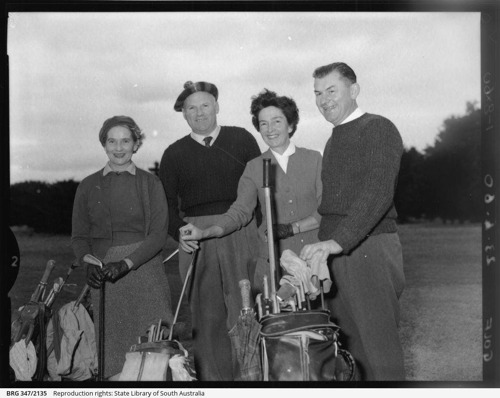 Golfers at Mount Gambier