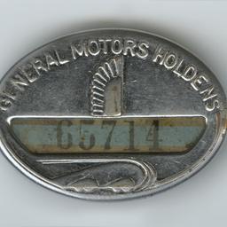 General Motors-Holden's employee badge