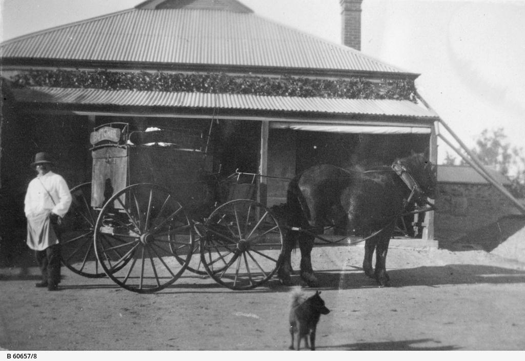 Butcher's cart