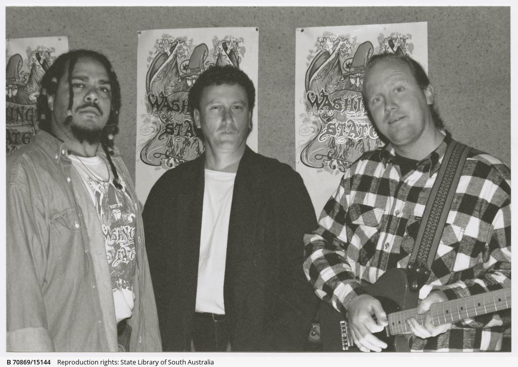 Washington State, (left to right) Andrew Washington, Mark Kohler, David Nobes.