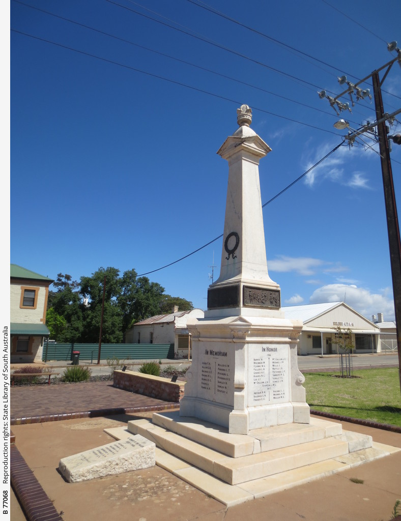 War Memorial, Booleroo Centre