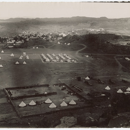 Army camp in South Africa