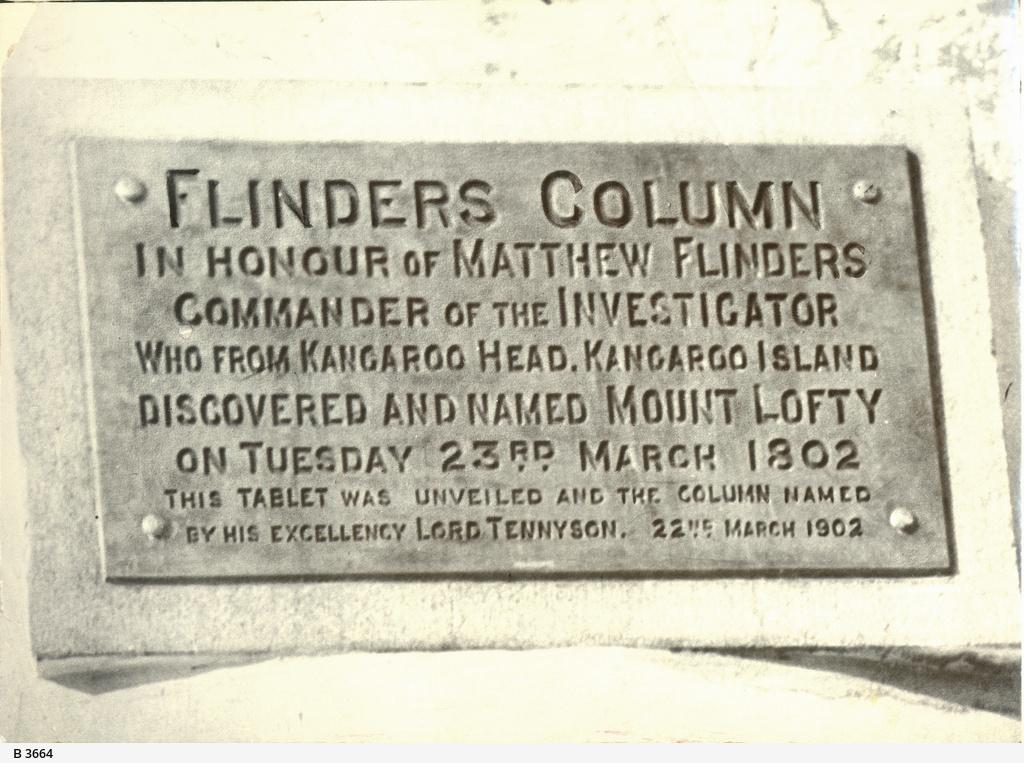 Flinders Column Tablet