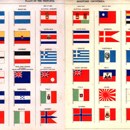 Flags of the principal maritime countries