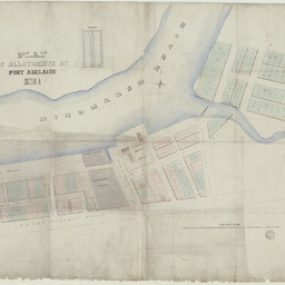 Plan of allotments at Port Adelaide, Section A [cartographic material]