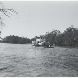 Photographs of river shipping and places