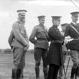Sir Henry Galway and senior army officers