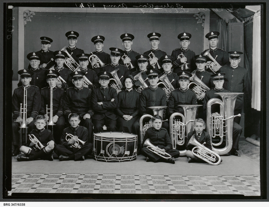 Salvation Army Male Band 1941