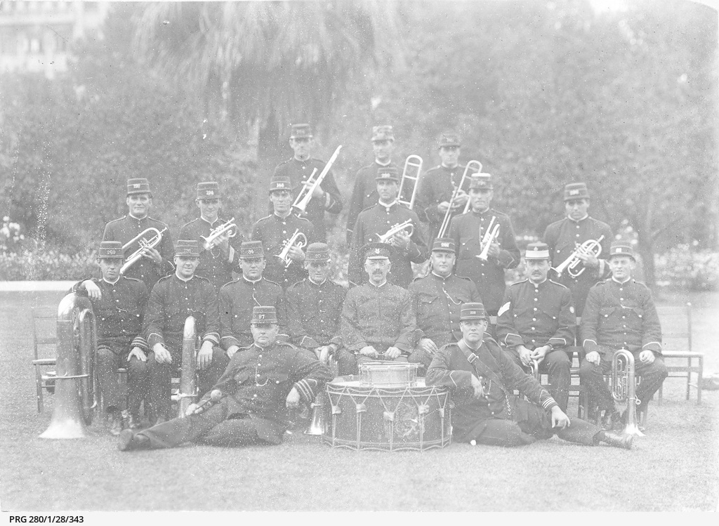 Members of the South Australian Police Band
