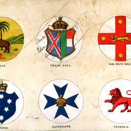 Emblems for British Dominions national and State flags