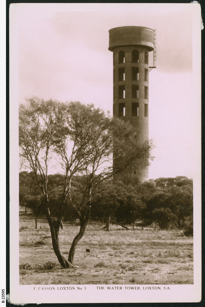 Water tower, Loxton