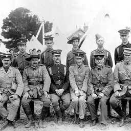 Military staff at Fort Largs, South Australia