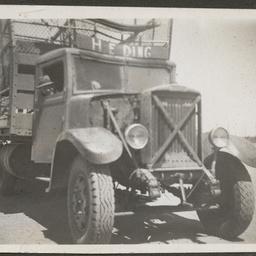 H.E. Ding's truck on the Birdsville Track