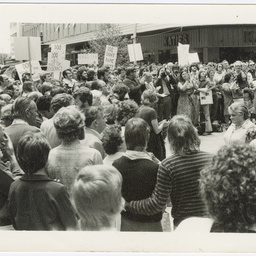Photographs of ABC and TEAS protest rallies