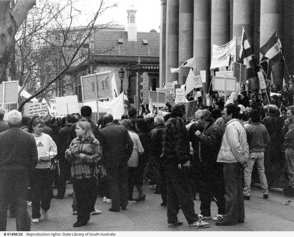 Bosnian War Demonstration