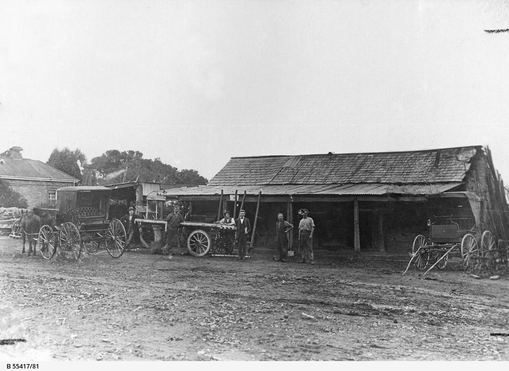 Waye Brothers blacksmith shop, Willunga