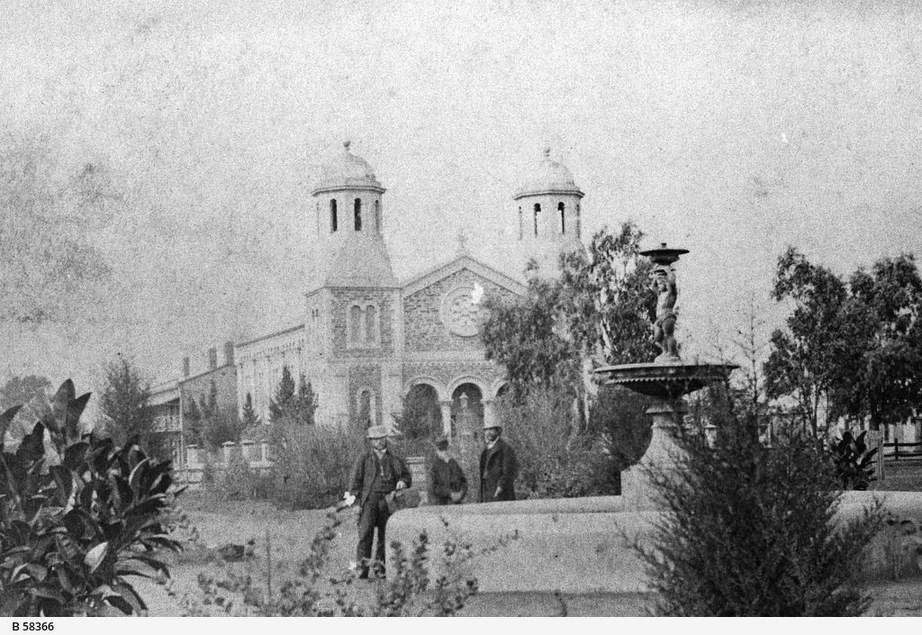 Congregational Church in Hindmarsh Square, Adelaide