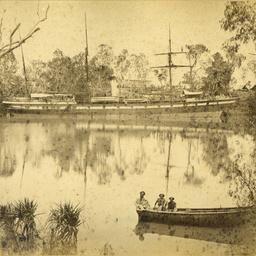The SS 'Tararua' on Roper River